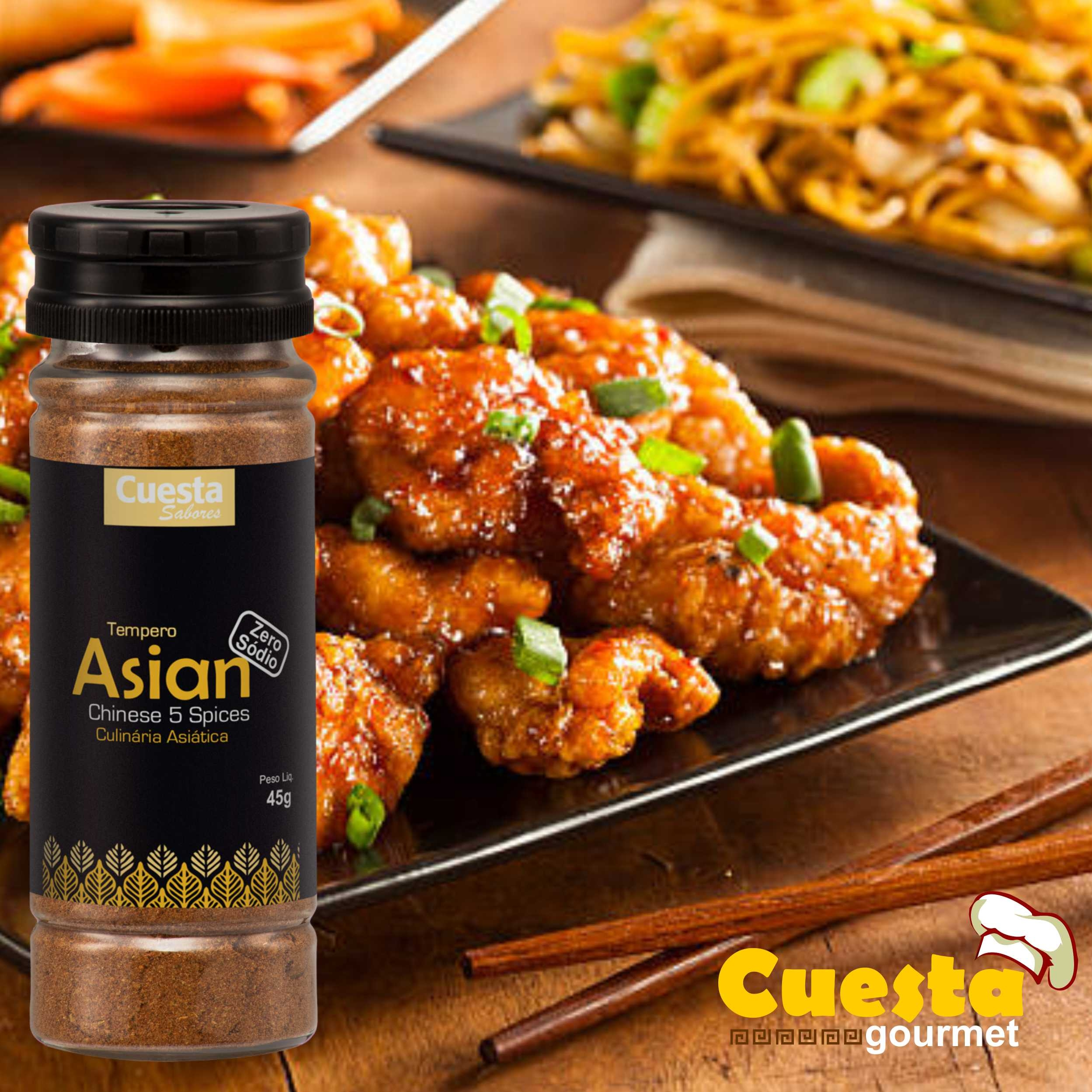 Cuesta Gourmet - Tempero Asian - Zero Sódio